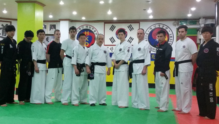 Hapkido - Hankido in Korea 2015