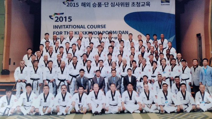 Kukkiwon Examiner Course 2015 in South-Korea